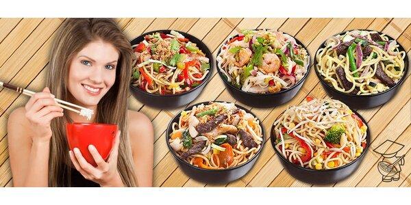 2 jakákoli jídla z Noodle Pankrác s možností rozvozu