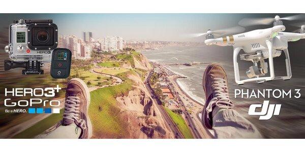 Natáčejte vlastní zážitky s létajícím dronem