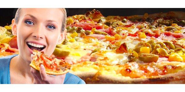 Pizza dle výběru z 5 nejprodávanějších druhů