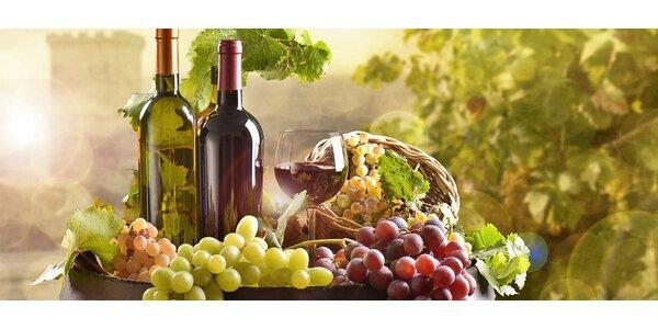 Sada šesti exkluzivních zahraničních vín