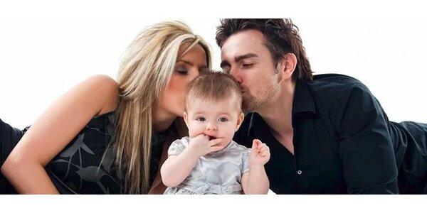 Profesionální fotky vaší rodiny i krásné portréty