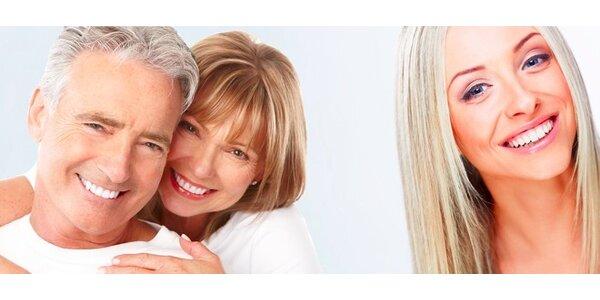 Dentální hygiena včetně pískování od zubního lékaře