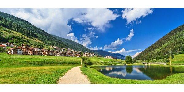 4 dny ve 3* hotelu uprostřed italských Alp