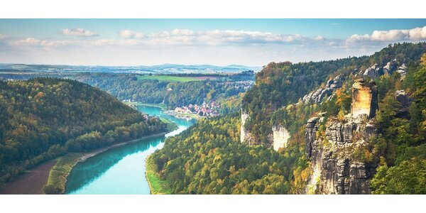 4denní dovolená v Saském Švýcarsku