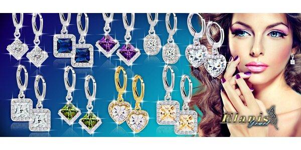 Nádherné náušnice Diamond Sparkle