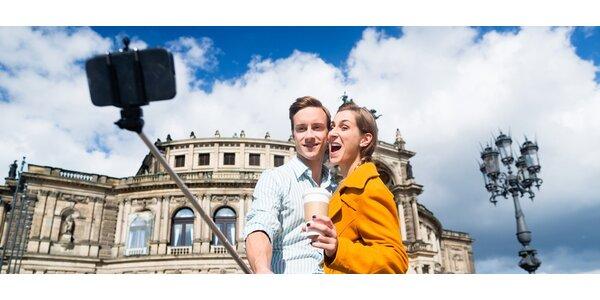 Selfie tyč pro smartphony a kamery