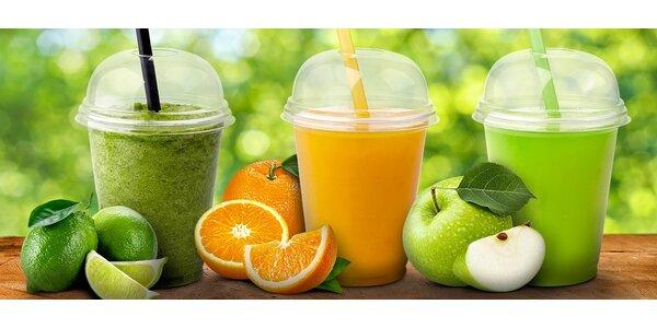 400ml fresh juice od Freshmana pro jednoho nebo pro dva