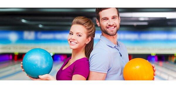 2hodinová hra bowlingu v Areálu Ferdinand
