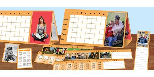 Školní pomůcky s vlastní fotografií