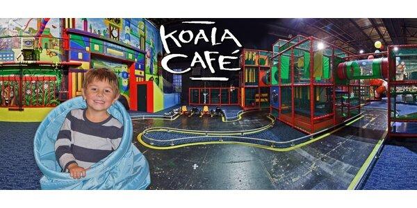 Vstup do dětského zábavního centra Koala Café
