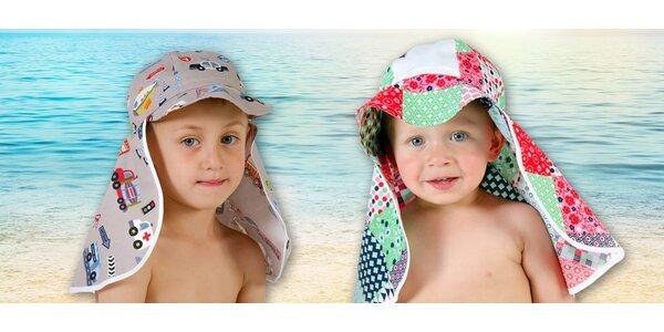 Dětské kloboučky šité v české rodinné firmě