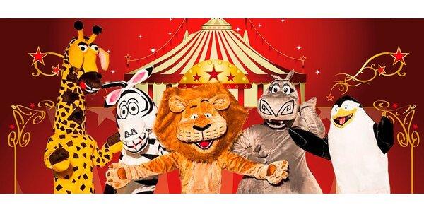 Vstupenky na show Madagaskar v cirkusu Jo-Joo