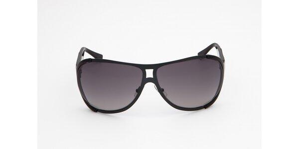 Pánské černo-šedé sluneční brýle Calvin Klein