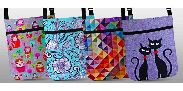 Originální barevné filcové kabelky JOY