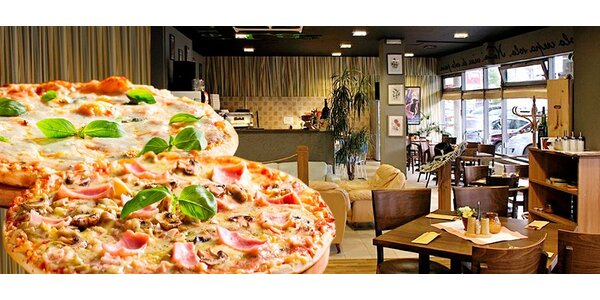 Dvě pizzy z La Fonduta - v restauraci nebo rozvoz
