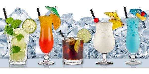 2 drinky dle výběru v luxusním clubu M1