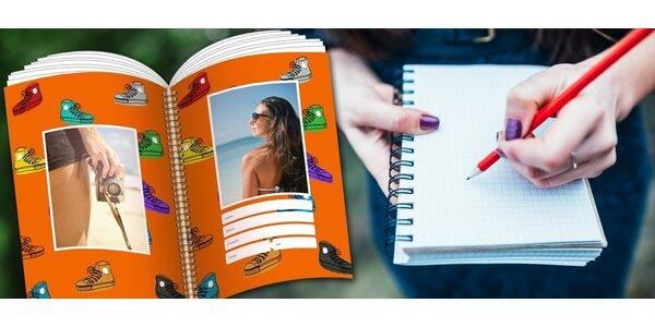 Pořiďte si zápisník s vlastní fotografií