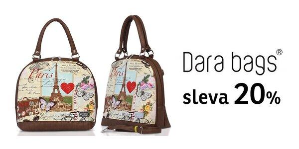 20% sleva v e-shopu Dara bags