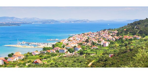 8 dní dovolené v Chorvatsku - apartmán u moře