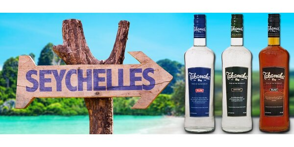 Špičkové rumy Takamaka ze Seychelských ostrovů