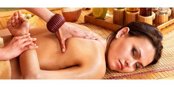 Aromaterapeutická masáž šíje a zad, 60 minut