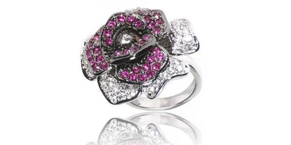 Dámský prsten Bague s Dames s růží