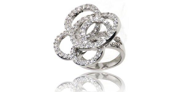 Dámský prsten Bague s Dames s kroužky