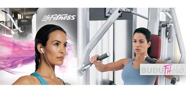 199 Kč za 4+1 neomezených jednorázových vstupů do fitness centra BuduFit