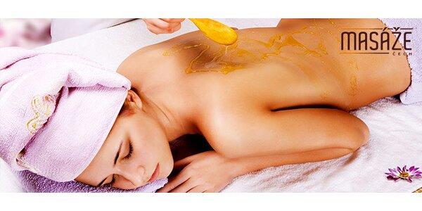 Lymfatická, medová či celotělová masáž