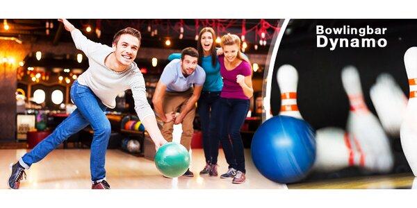 Hodina bowlingu pro partu až pro 8 hráčů
