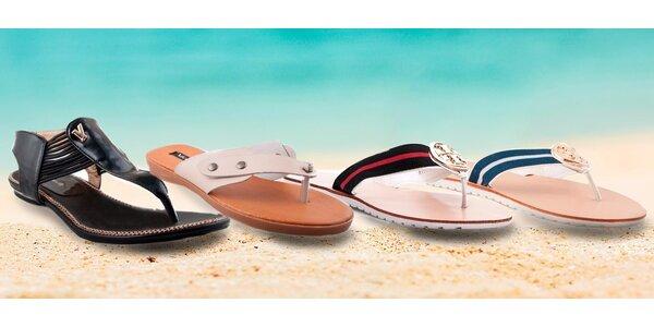 Dámské letní žabky i sandálky