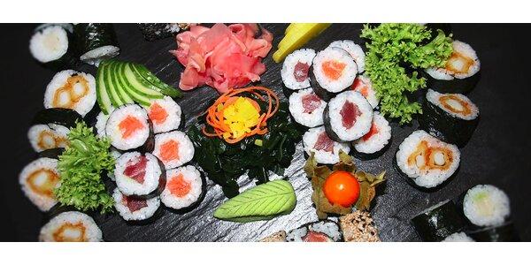Bohaté sushi menu v Sushi Aichi na Praze 1