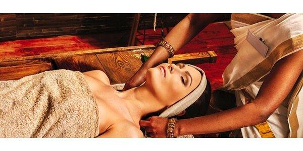 Ájurvédská masáž celého těla v délce 120 minut