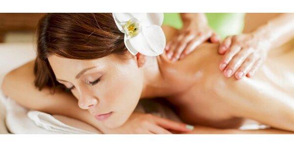 Antistresová nebo Aromaterapeutická masáž - 60 minut