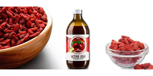 ACTIVE GOJI šťáva 500 ml