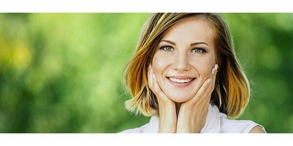 Letní kosmetické ošetření pleti v délce 90 minut