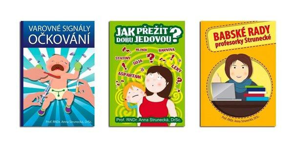 3 bestsellery o zdraví, stravě a očkování