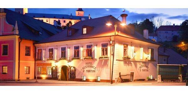 Wellness a výborné jídlo v jižních Čechách