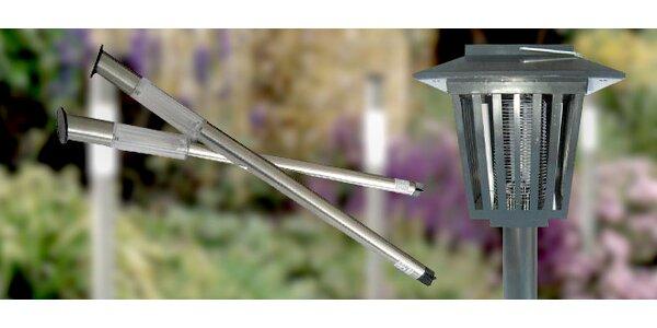 Solární lampy na zahradu - 2 typy