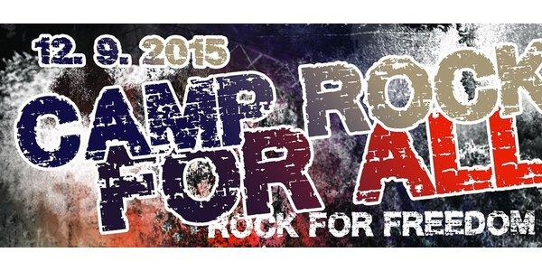 Camp Rock For All - Masečín 2015