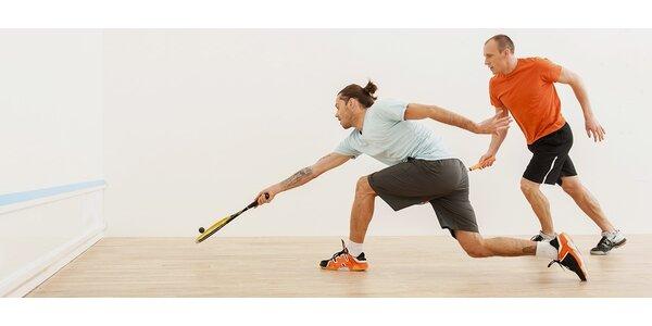Hodinový vstup na squash pro 2 osoby v centru Brna