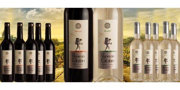 6 lahví svěžích ovocných vín z jihu Francie