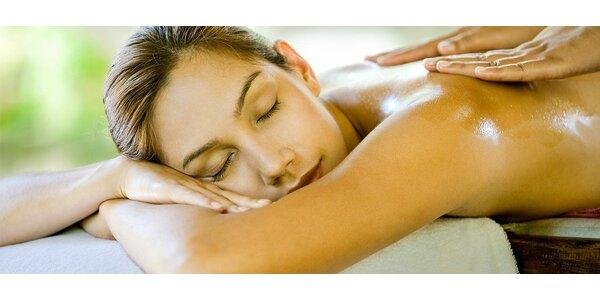 Relaxační masáž pro unavené tělo