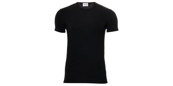 Pánské černé bavlněné tričko Kenzo s kulatým výstřihem