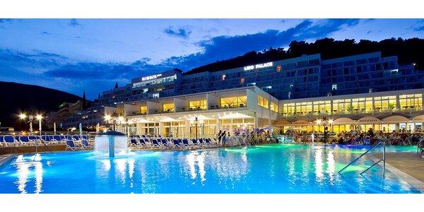4* dovolená v Chorvatsku pro dva včetně polopenze
