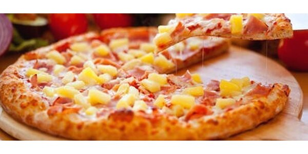 2 křupavé pizzy dle vlastního výběru