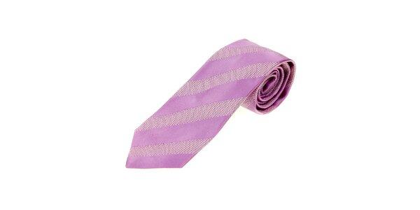 Pánská fialková kravata Gianfranco Ferré