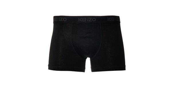 Pánské černé elastické boxerky Kenzo
