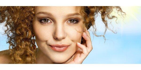 Hluboký peeling epidermis vč. kosmetické kúry