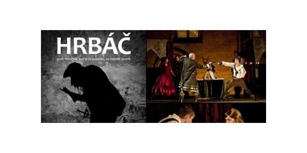 Divadelní představení HRBÁČ v divadle v Celetné